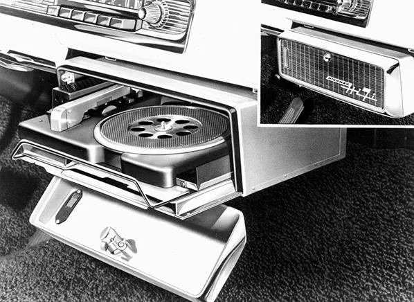Chrysler Highway Hi-Fi in-car vinyl player.