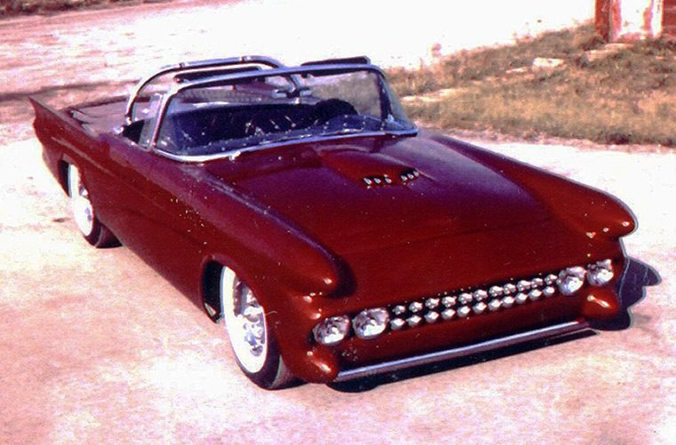 Le Perle, Darryl Starbird's custom Ford Thunderbird