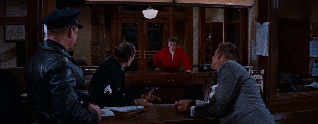 Джеймс Дин, Бунтарь без причины, кадр из фильма