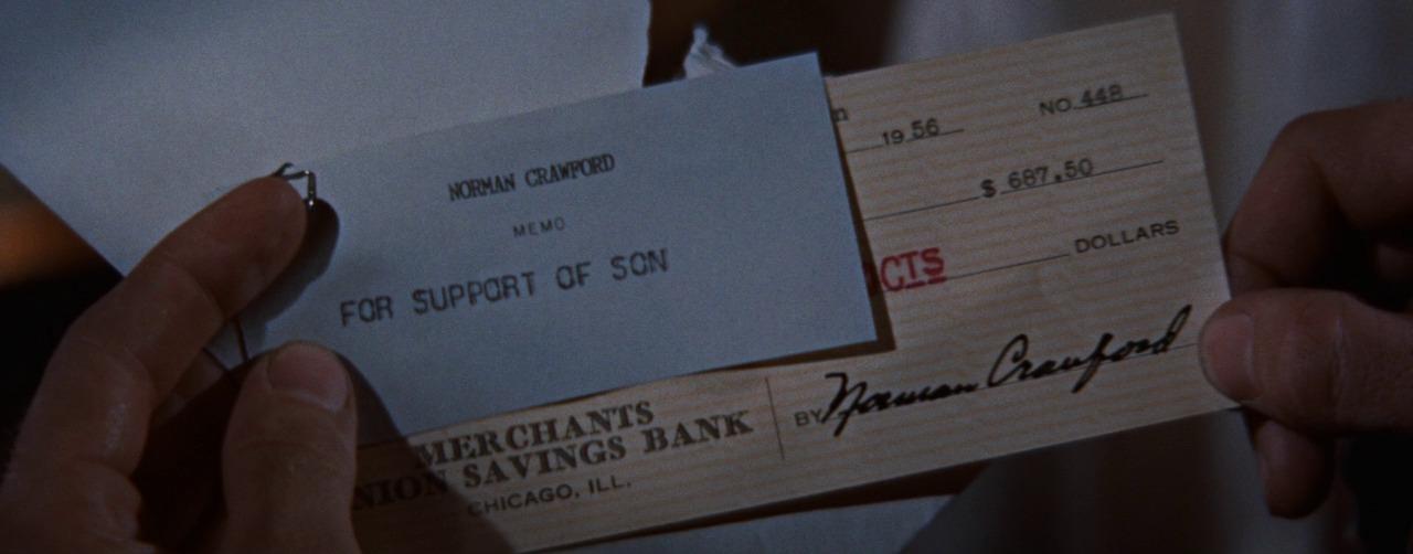 кадр из фильма Бунтарь без причины, чек, поддержка сына