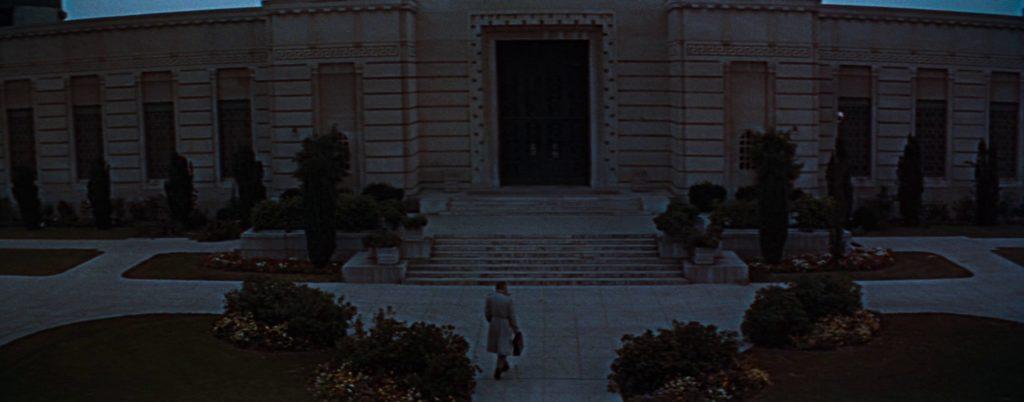 Финальная сцена, Бунтарь без причины, кадр из фильма