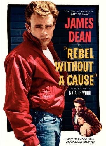 Икона стиля, Джеймс Дин в красной куртке