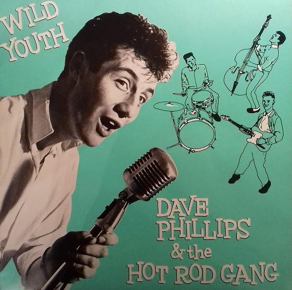 Дэйв Филлипс, Wild Youth, 1982, обложка альбома